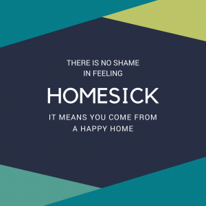 Tips for coping with feeling homesick
